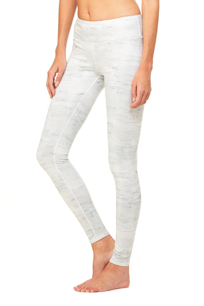 Alo Yoga Airbrush Capri Legging Sequoia