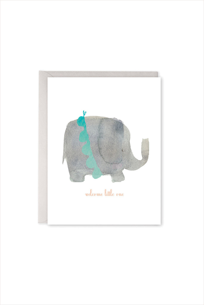Welcome Little One - Elephant