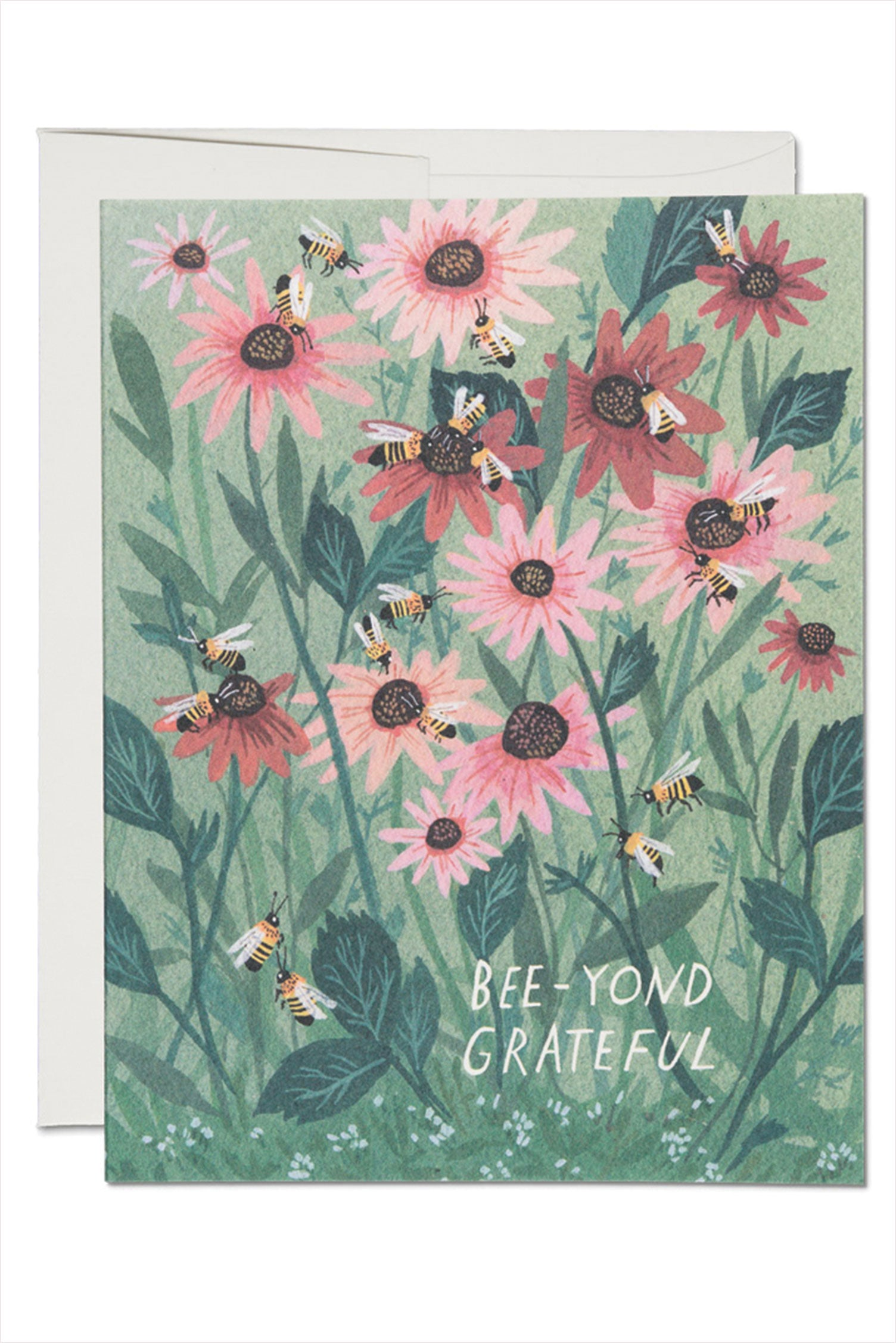 Bee-Yond Grateful Thank You Card