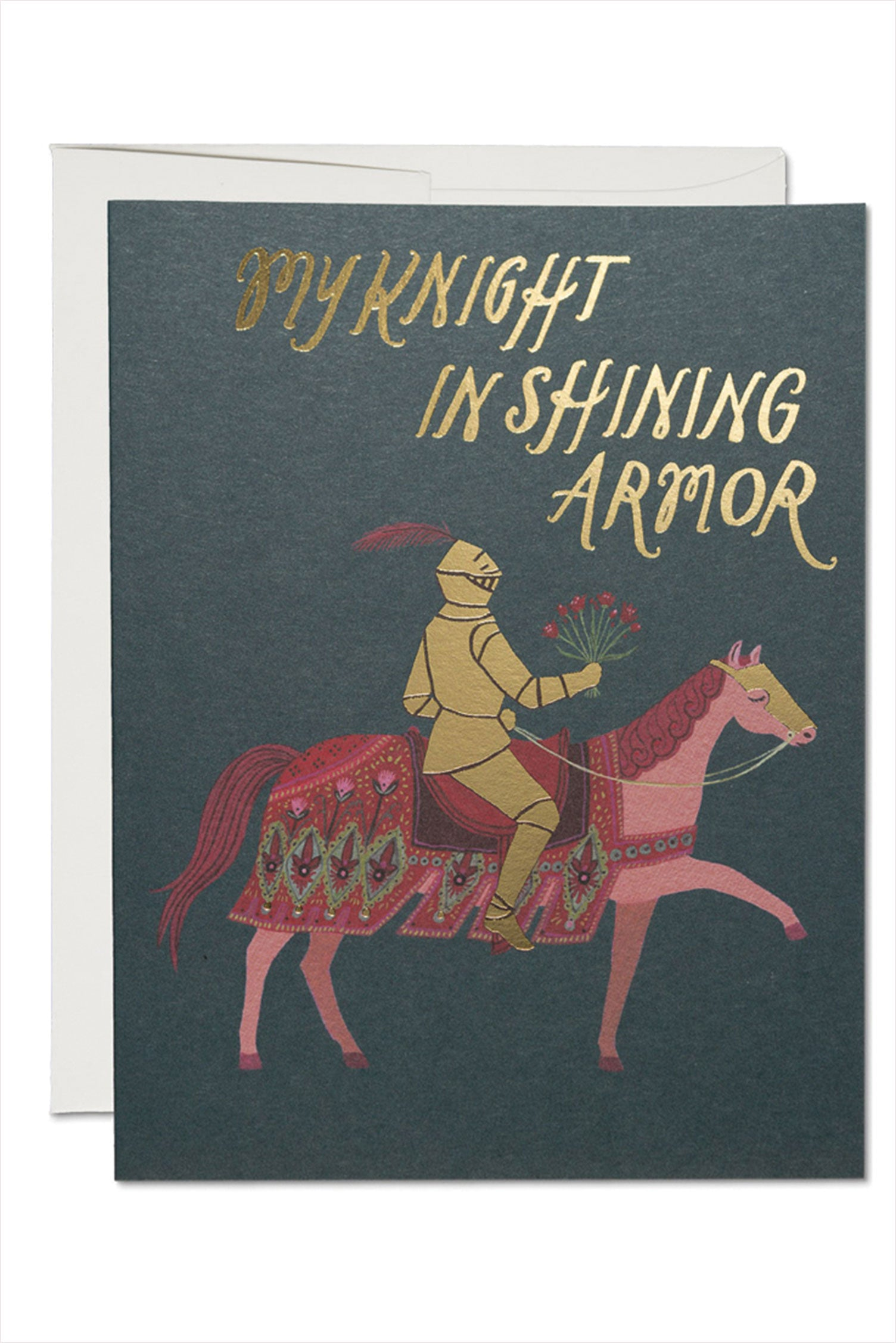 Knight In Shining Armor Love Card