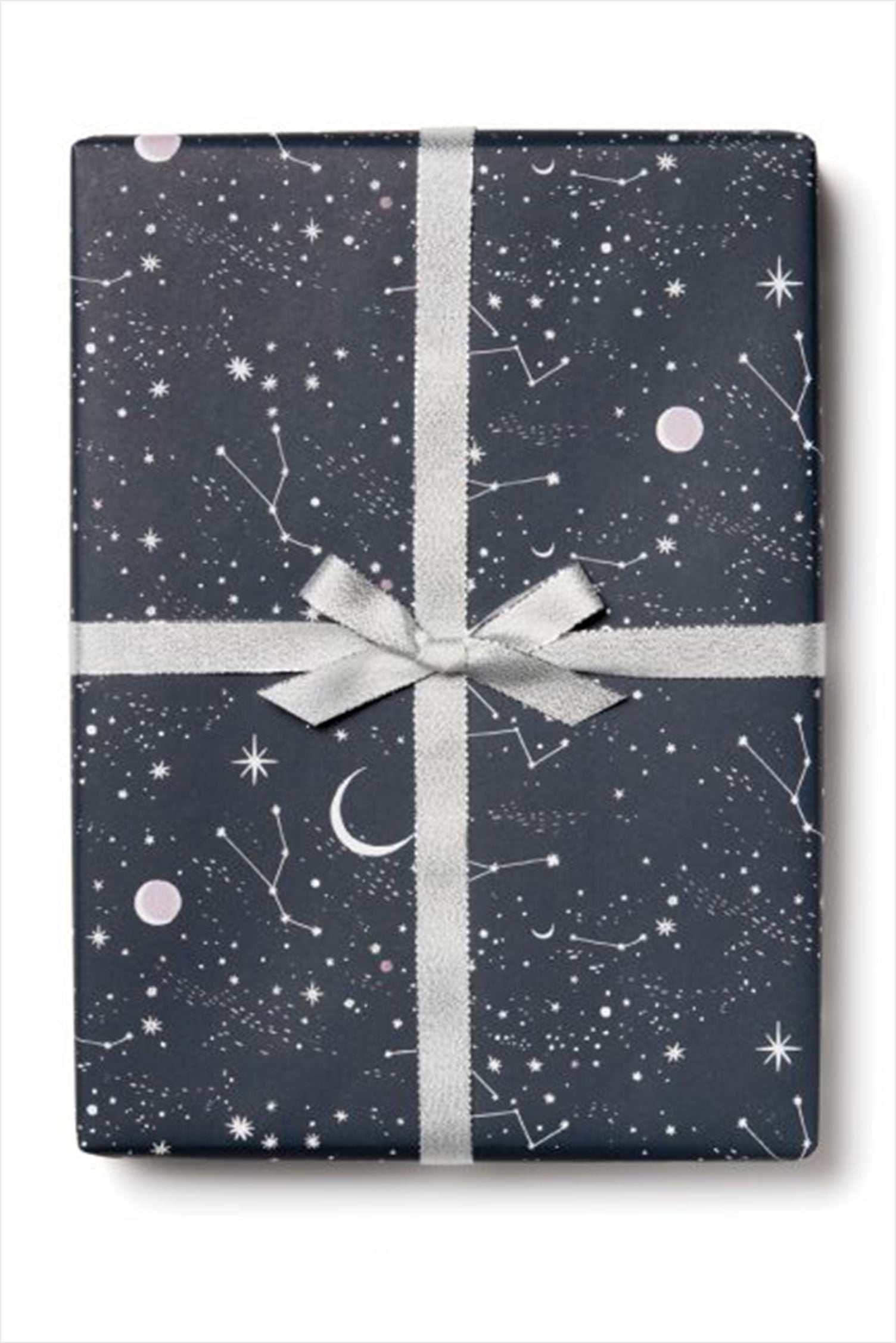 Moon And Stars Sheet Wrapping Paper
