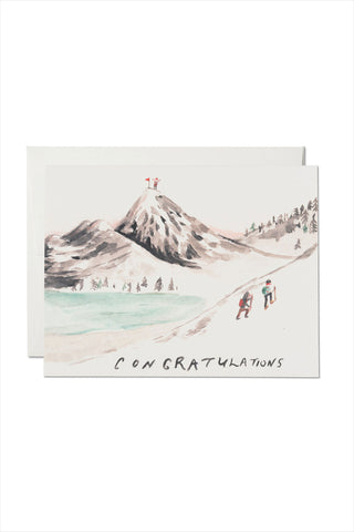 Mountain Top Card