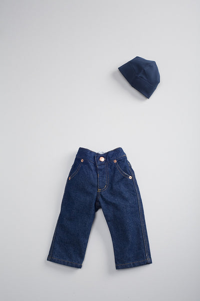 Baby Flora And Henri Jean Denim