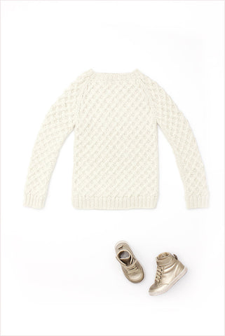 Basketweave Sweater