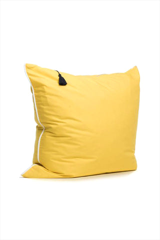 Pillow 26 x 26 Bright Yellow With Piping