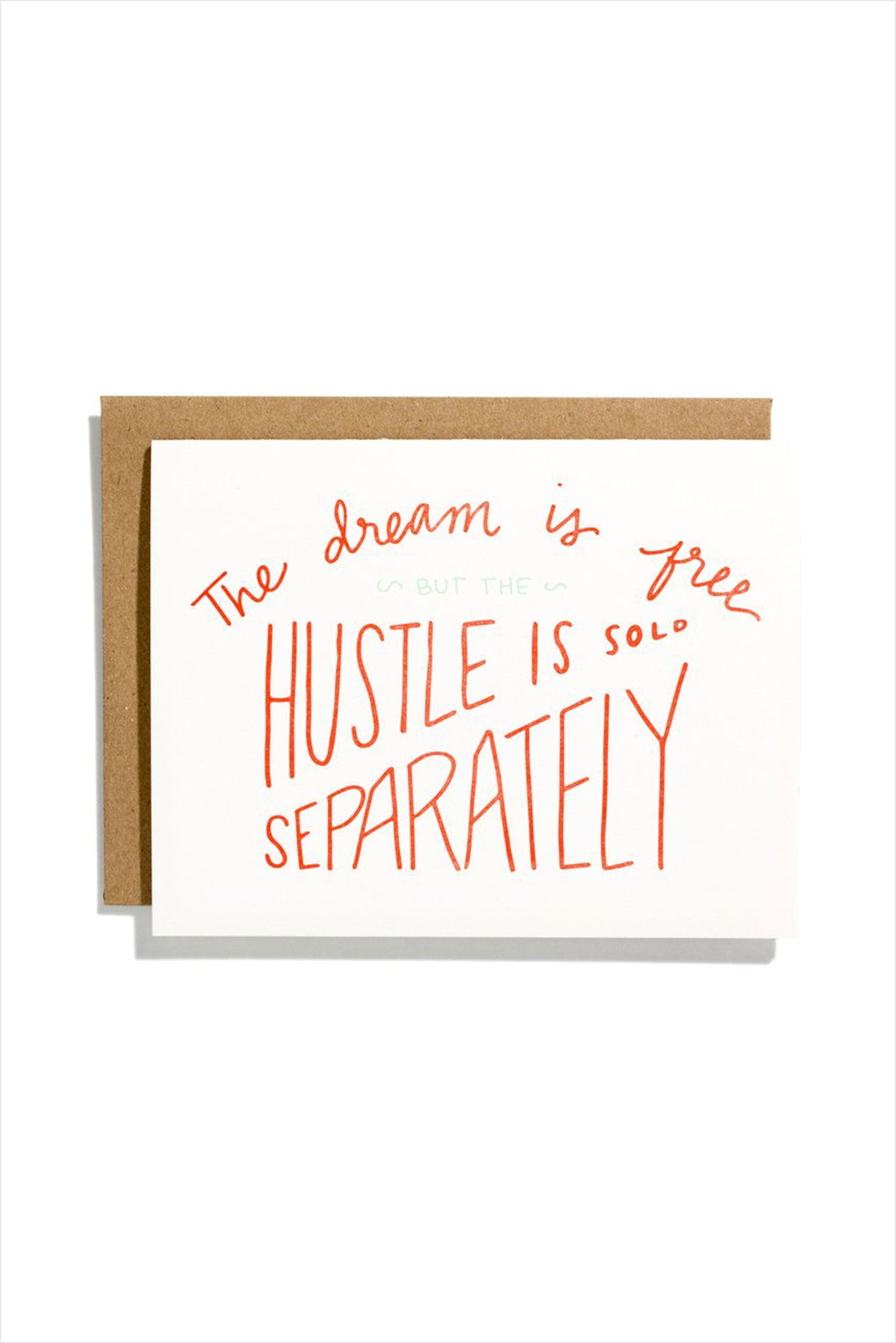 Hustle Sold Separately Card