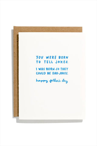 Dad Jokes Card