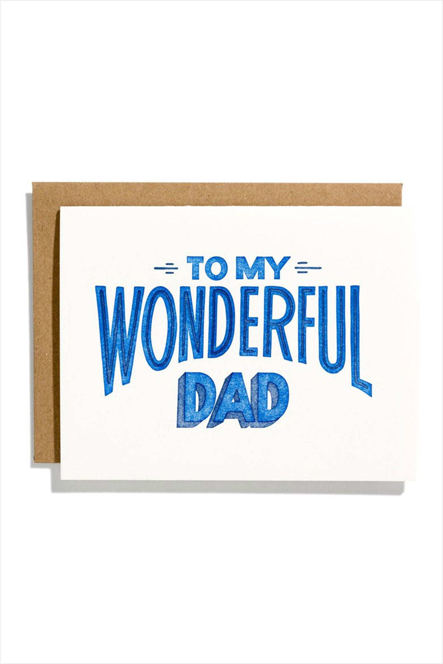 To My Wonderful Dad Card