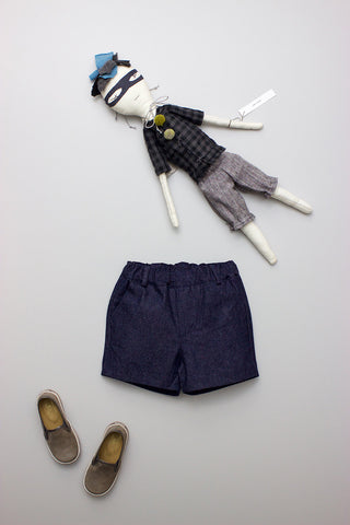 Denim French Short