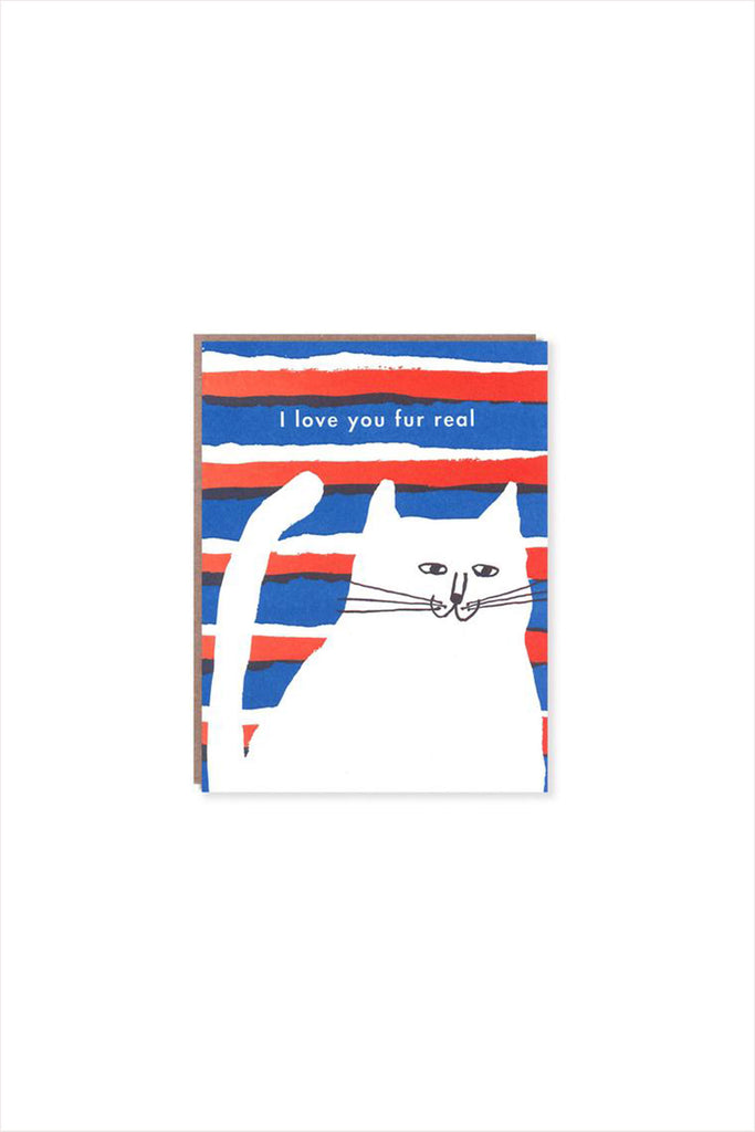 Love You Fur Real Card