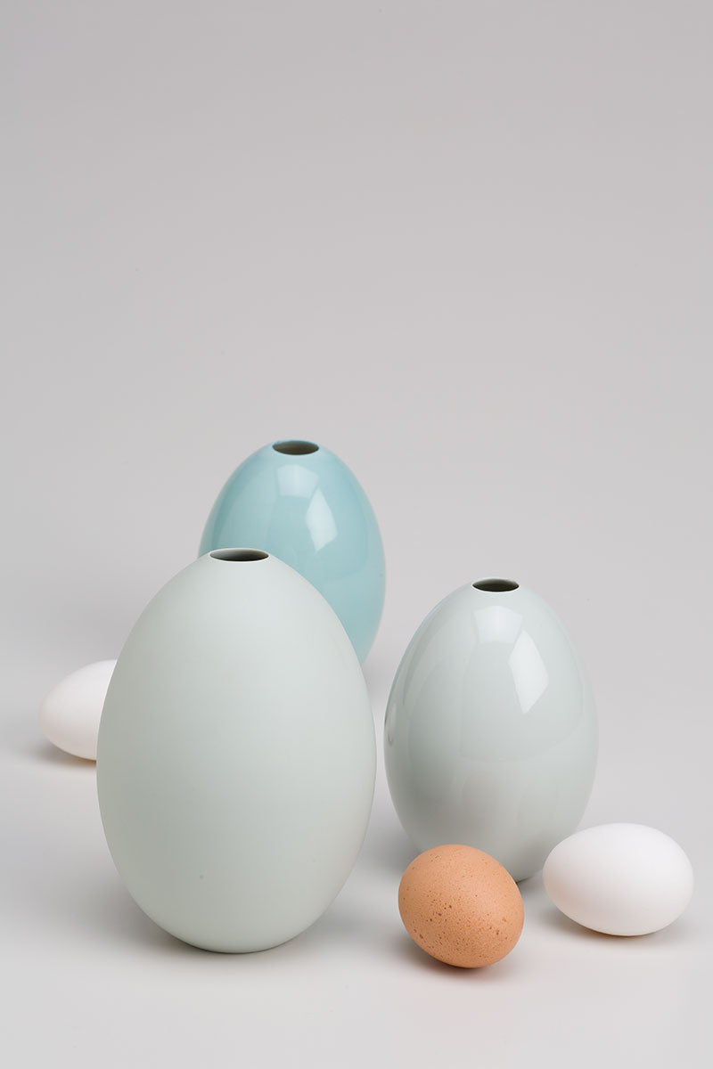 Nymphenburg Egg Vase Large
