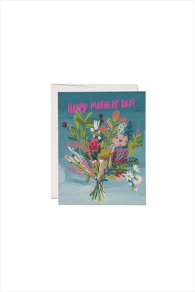 Neon Pink Mother's Day Card