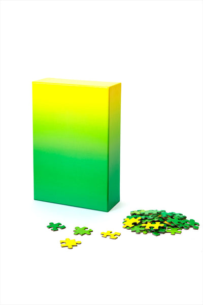 Gradient Puzzle Green/Yellow