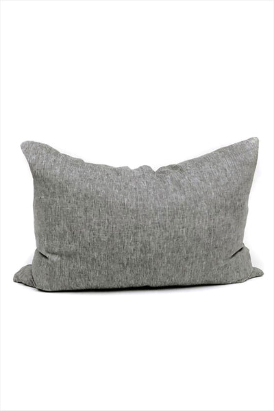 Headboard Pillow Solid Charcoal