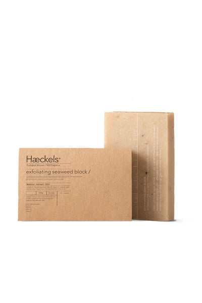 Large Exfoliating Seaweed Block