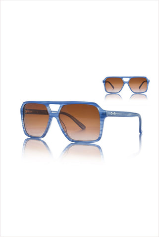 Hunter Blue Dusk Sunglasses