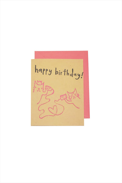Telephone Birthday Card