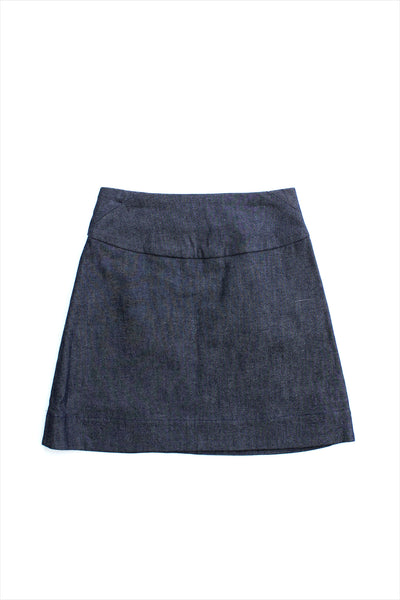 Sample Sale Denim Mini Skirt 4year