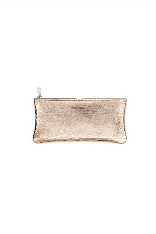 Tracey Tanner Distressed Eyeglass Case Rose Gold