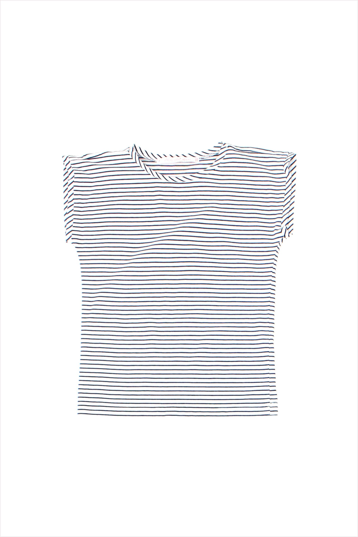 Sample Sale Tunic Tee 4year Blue Stripes