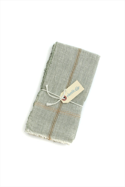 Grey Brown Napkin Set