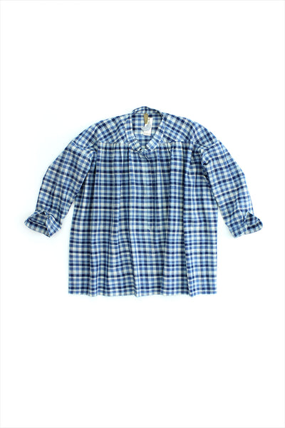Two New York Plaid Button Shirt