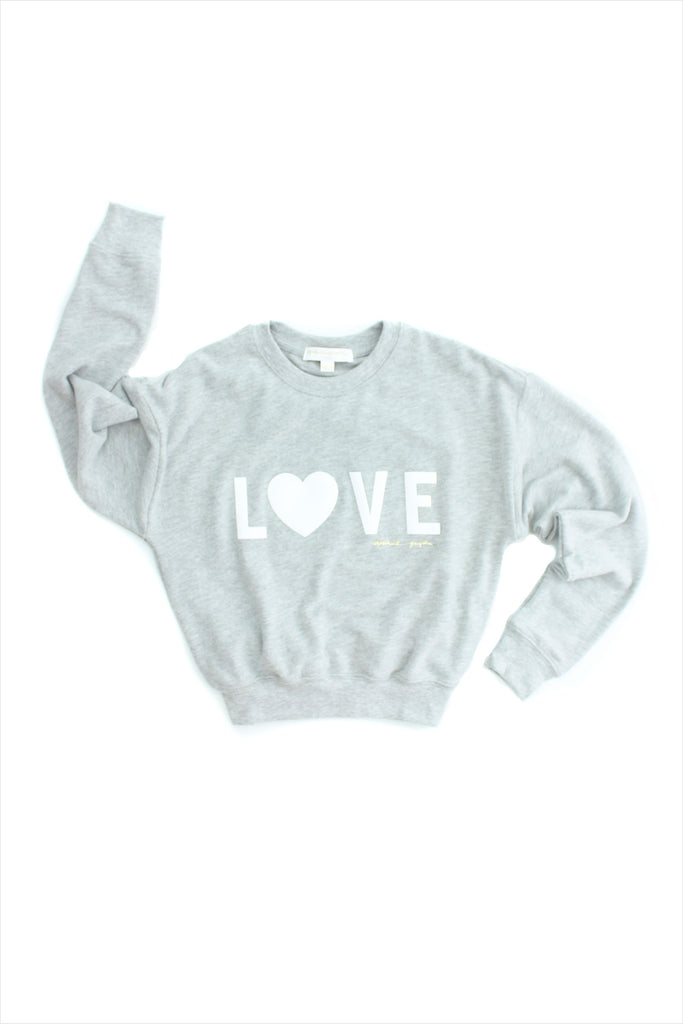 Love Malibu Crew Neck Sweatshirt