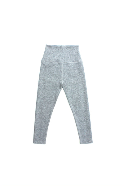Highwaisted Capri Legging Silver Mist
