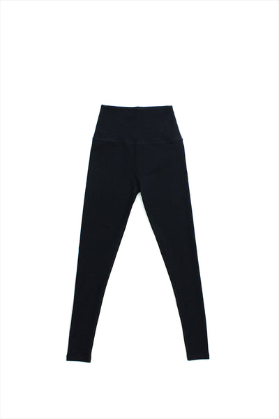 Highwaisted Long Legging Darkest Night