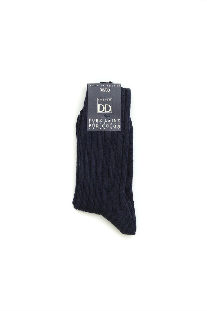 Large Rib Socks