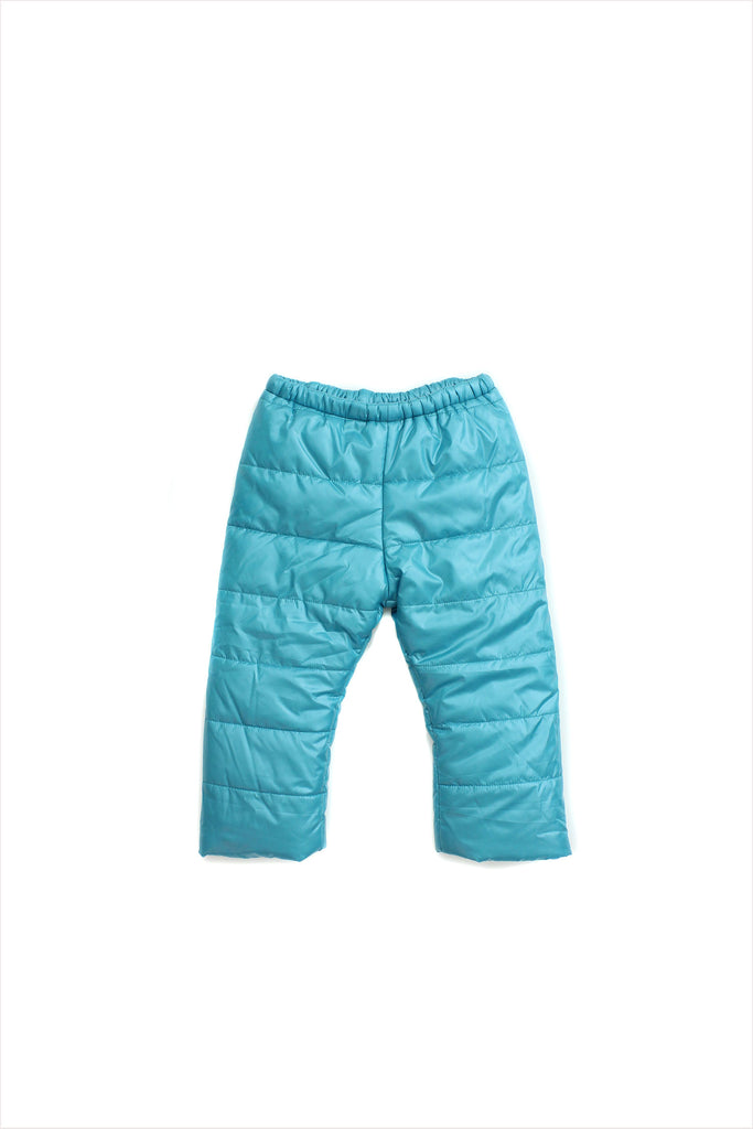 Sample Sale Parka Pant 2year Turquoise