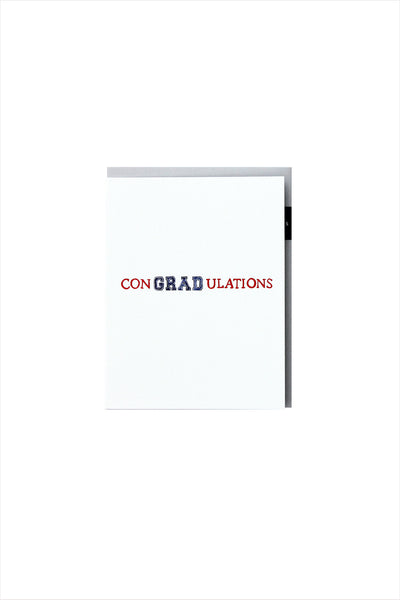 conGRADulations Graduate Card