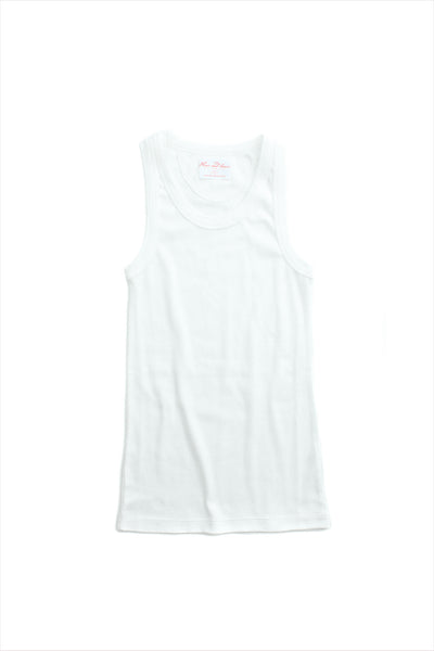 F&H Women's Tank Undershirt White