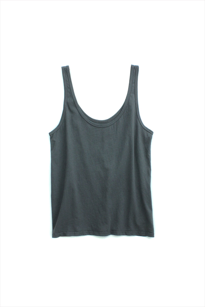 Mate Women's Layering Tank Charcoal