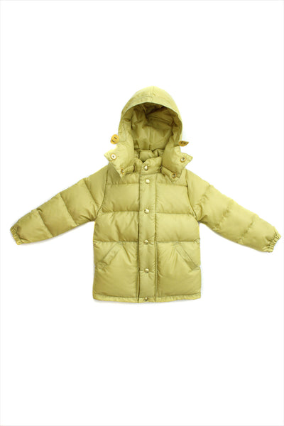 Children's Down Parka Golden Mustard