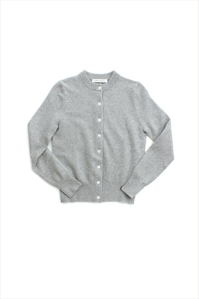 Extreme Cashmere n°99 Little Cardigan Grey