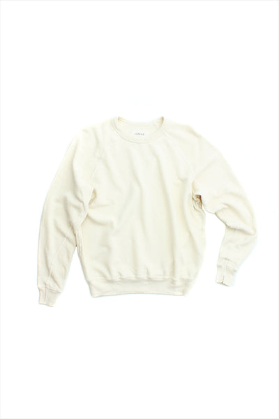 The Great College Sweatshirt Washed White