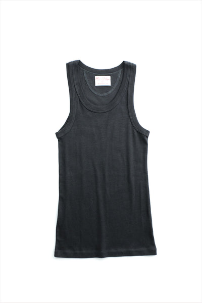 F&H Women's Tank Undershirt Charcoal