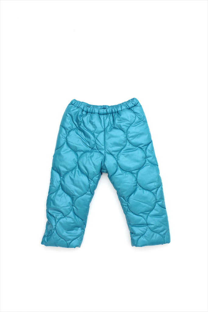 Sample Sale Parka Pants 2year Teal