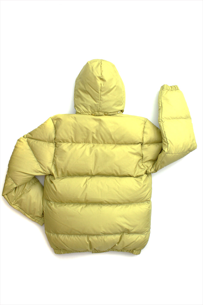 Men's Italian Parka Golden Mustard