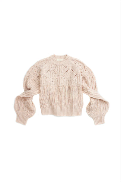 The Great Frond Pullover Carnation