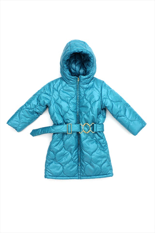 Sample Sale Parka 3year Teal
