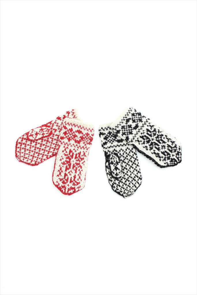 F&H Adult's Nordic Mittens
