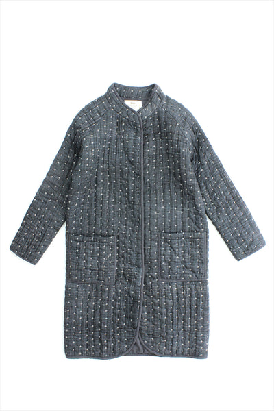 Two New York Kantha Long Coat