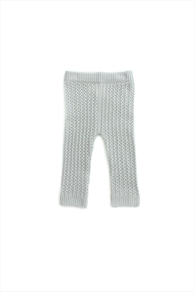 Cashmere Knitted Pant Dove Grey
