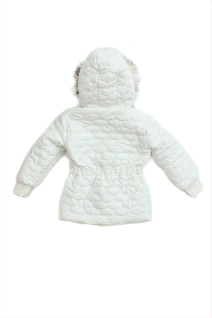 Sample Sale Parka 18month White