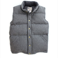 Men's Italian Wool Vest Gray