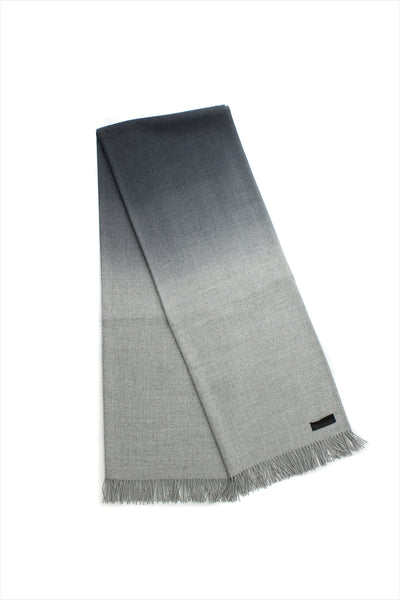 Alpaca Blanket Gray Black