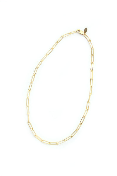 Chain Necklace Rectangle