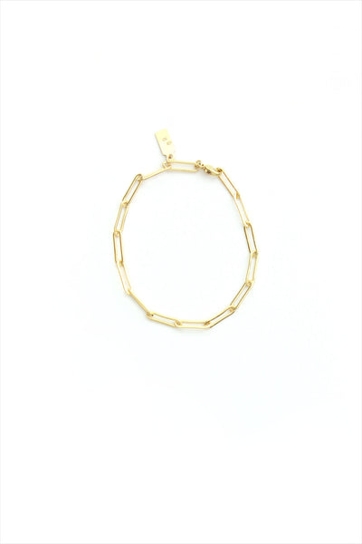 Chain Bracelet Rectangle